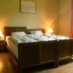 Slaapkamer in Le chalet de Botrange