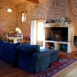 Gîte Dordogne woonkamer