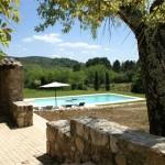 vakantiehuis met zwembad Ardeche Mas Sylvabella
